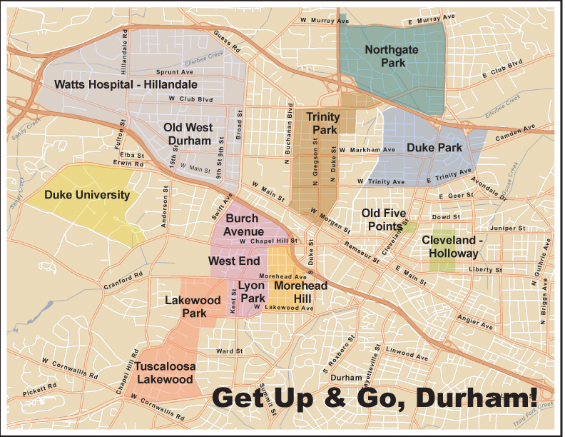 Duke Park | Clean Energy Durham Blog Durham District Map on